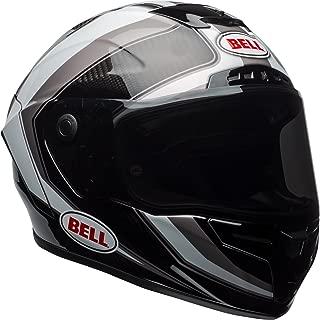 Bell Race Star Full-Face Motorcycle Helmet (Gloss White/Titanium Sector, Medium)