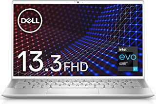 【インテル Evo プラットフォーム】Dell モバイルノートパソコン Inspiron 13 7300 シルバー Win10/13.3FHD/Core i7-1165G7/8GB/512GB/Webカメラ/無線LAN MI773A-AWL【W...