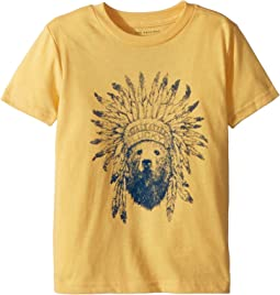 Lucky Brand Kids - Short Sleeve Graphic Tee (Toddler)