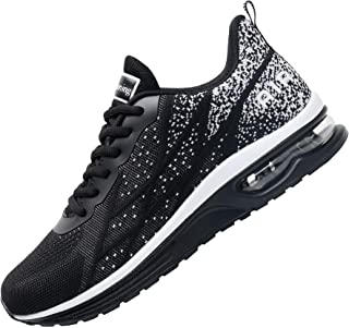 Impdoo Mens Air Athletic Running Sneaker Cute Fitness Sport Gym Jogging Tennis Shoes (US7-12.5 D(M)