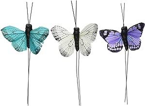 Beautiful Butterfly Decorative Set - Blue