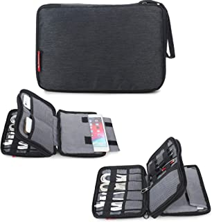 SaleOn™ Portable Storage Organizer Bag for Earphone USB Cable Power Bank Mobile Charger Digital Gadget Hard Disk, Water Re...