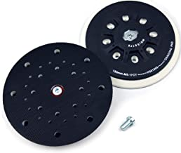 6 Inch(150mm) 17-Hole Dust-free M8 Thread (Hard) Back-up Sanding Pad Grinding Pad for 6