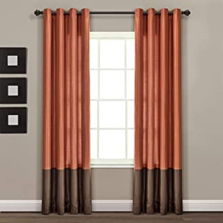 Best curtains brown and orange Reviews