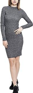 Urban Classics Ladies Rib Dress dames Gekleed