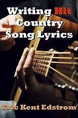 Writing Hit Country Song Lyrics Kindle Edition
