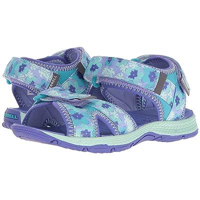 Merrell Kids Surf Strap 2.0 (Toddler/Little Kid/Big Kid) (Turquoise/Purple) Girl