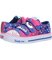 SKECHERS KIDS - Shuffles 10913L Lights (Little Kid/Big Kid)