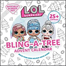 L.O.L. Surprise! Bling-A-Tree Advent Calendar: | L.O.L. Gifts for Girls Aged 6+ | LOL Surprise | Trim a Tree | Craft Kit |...