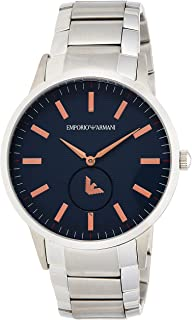 Emporio Armani Men's Quartz Watch, Analog Display and Stainless Steel Strap AR11137