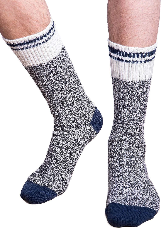 Men's Cozy Cabin Wool Crew Socks