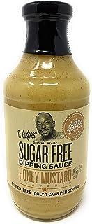 G Hughes Sugar Free Honey Mustard Dipping Sauce 18 oz Bottle