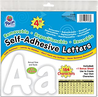 Best self adhesive letters white Reviews