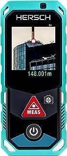 /Portatile telemetro Digitale 40 Metri Hutiee Misuratore di Distanza Telemetro Metro Digitale/ 40/metri//60/m//80/M//100/M Opzionale 1 Grande capacit/à di stoccaggio e grandangolo