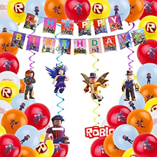10PCS 7 Inches Disposable Tableware Set Plates for Sandbox Game for Roblox Video Party Supplies Decoration Birthday Party Decorations