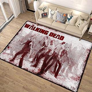 xuejing Tapis Tapis Rectangulaire Salon Chevet Balcon Europe Et Amérique Collège Dortoir Intérieur The Walking Dead Décora...