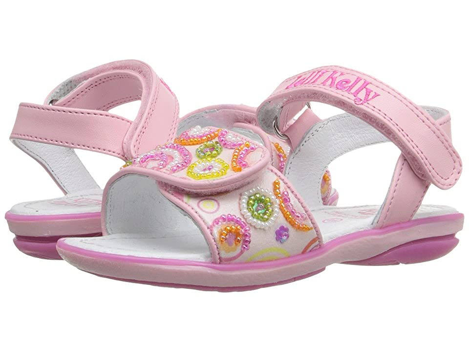 Lelli Kelly Kids Puntini Sandal (Toddler/Little Kid) (Pink Fantasy) Girls Shoes