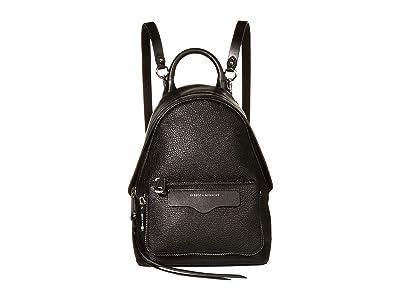 Rebecca Minkoff Emma Mini Convertible Backpack (Black) Backpack Bags