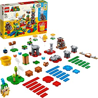 LEGO Super Mario Master Your Adventure Maker Set 71380 Building Kit; Collectible Gift Toy Playset for Creative Kids (366 P...