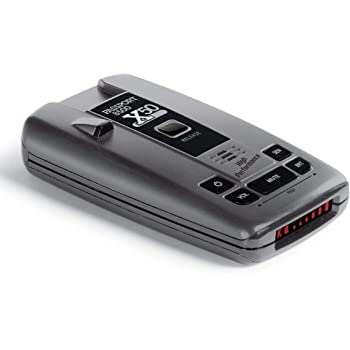 "Escort Passport 8500 X50 Radar Detector – Extended Long Range, AutoMute, AutoSensitivity, Audible Alerts, Adjustable LED Display, Signal Strength Meter, Grey, 1.25""X2.85""X5.32"""