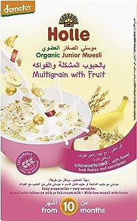 Holle Organic Junior Muesli Multi-grain with Fruit, 250g