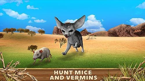 『Fennec Fox Simulator 3D: Desert Wilderness Little Beast Surviving Game』の4枚目の画像