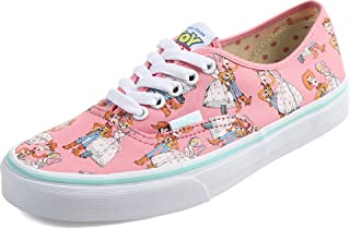 Vans Shoes Authentic Sheiff Woody/Little Bo Peep Pink Disney Pixar Toy Story Sneakers (3.5)