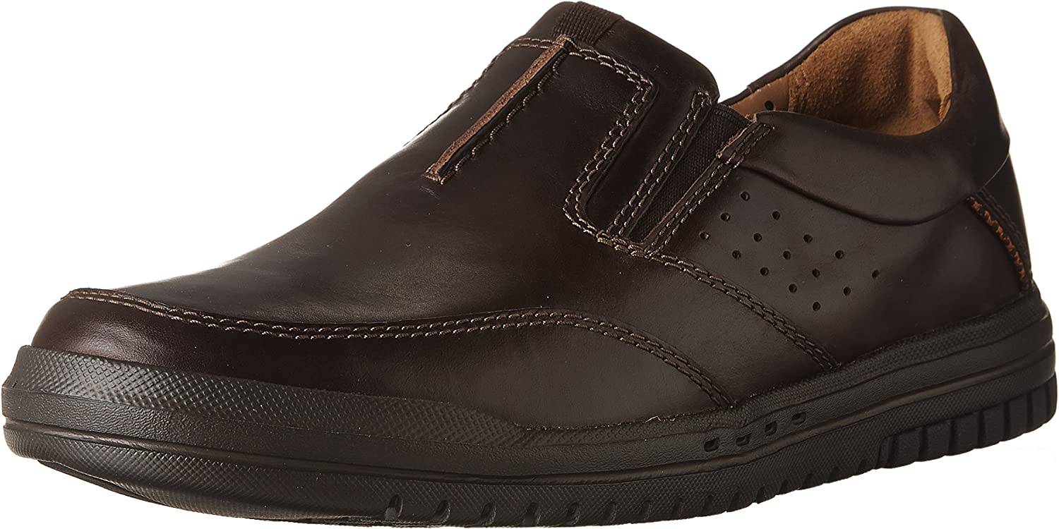 CLARKS Unrhombus Twin Mens Slip On Loafers