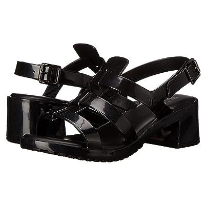 Mini Melissa Mel Flox High (Little Kid/Big Kid) (Black) Girls Shoes