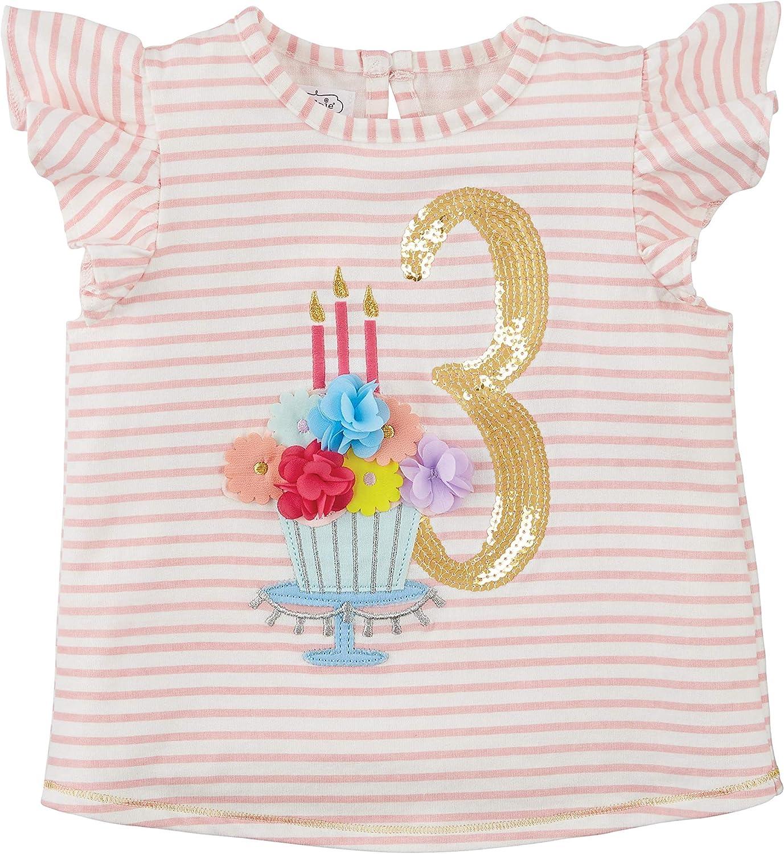 Mud Pie Baby Girl Birthday Shirt