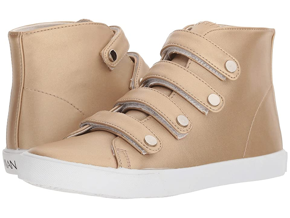 Amiana 15-A5512 (Toddler/Little Kid/Big Kid/Adult) (Gold Casual PU) Girl