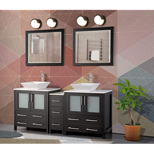84 Inch Bathroom Vanity Amazon Com