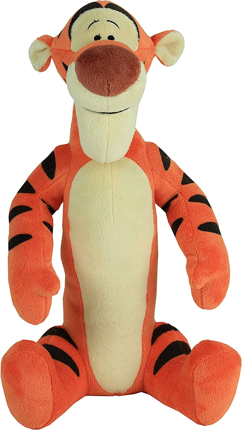 Disney Classics Friends Large 13.5-Inch Plush Tigger from Winnie The Pooh, Stuffed Animal, Tiger, by Just Play