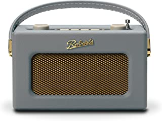 Roberts Revival Uno Compact DAB/DAB+/FM Digital Radio with Alarm, Dove Grey