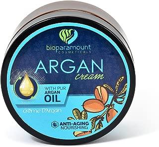 Bio Paramount Anti-Aging Premium Organic Argan Oil Day Night Face Cream, 6.6 Oz