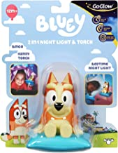 Homewares 14311 Bluey Bingo Kids Bedside Night Light and Torch
