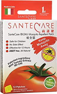 Santecare IBI-246 Mosquito Repellent Patch, 12 Count