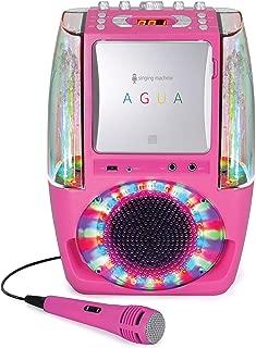 Singing Machine Karaoke System - Portable, Pink (SML605P)