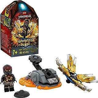 LEGO NINJAGO Spinjitzu Burst Cole 70685 NINJAGO Accessory Set Building Kit Featuring Ninja Minifigure, New 2020 (48 Pieces)