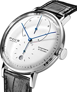 FEICE Automatic Watch for Men Bauhaus Watch Mens Mechanical Watch Stainless Steel Domed Mirror Analog Casual Dress Watches Unisex -FM202