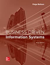 LOOSE LEAF BUSINESS DRIVEN INFORMATION SYSTEMS