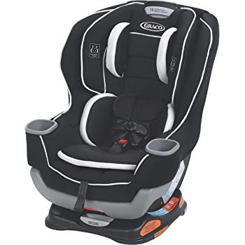 Graco Extend2Fit Convertible Car Seat | Ride Rear Facing Longer with Extend2Fit, Binx