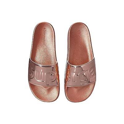Superga 1908 PUMETU Slide Sandal (Rose Gold) Women