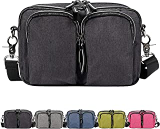 DivaCat [ Updated Version-Extended Waist Strap Fanny Packs for Women Men Duable Multiple Large