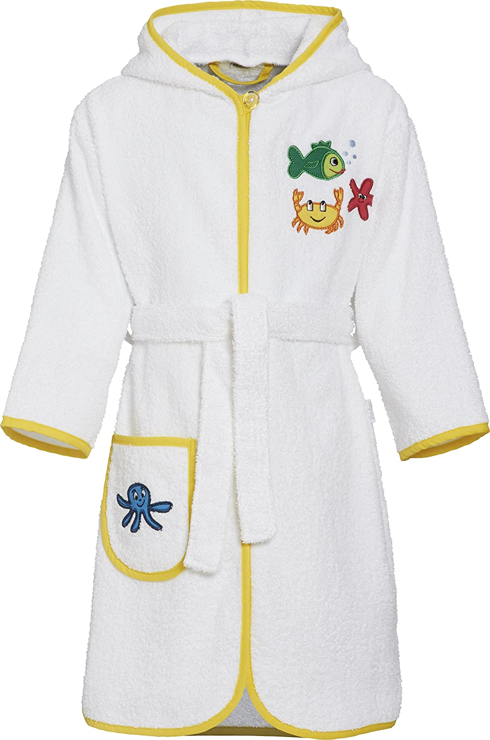 Playshoes Frottee-Bademantel Eule Peignoir Fille