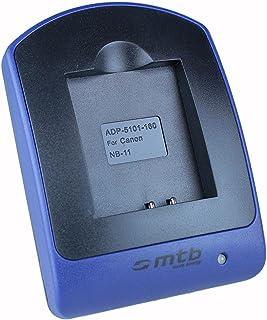 Cargador (Micro-USB, sin Cables/adaptadores) para Canon NB-11L / Ixus 125 HS, 240 HS, 265 HS. Powershot A3500 IS, SX400 IS Ver Lista