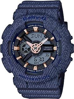 [カシオ] 腕時計 ベビージー デニムドカラー BA-110DE-2A1JF レディース ブルー