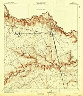 YellowMaps Spring TX topo map, 1:31680 Scale, 7.5 X 7.5 Minute, Historical, 1920, Updated 1942, 19.8 x 17 in