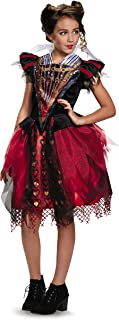 Disguise Red Queen Tween Alice Through The Looking Glass Movie Disney Costume, Large/10-12