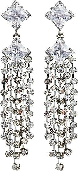 LAUREN Ralph Lauren Linear Multi Strand Clip Earrings